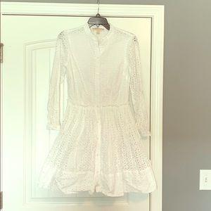 Michael Kors Eyelet dress.